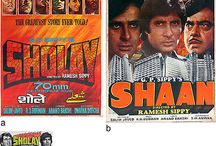 Bollywood Classics Collectibles / Extremely rare and original publicity movie posters, lobby cards, stills, LP Records and synopses of blockbuster Indian films dating between the 1960s to the late 2000s, some descending from the collections of the superstars themselves.