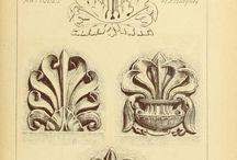 скульптурные орнаменты