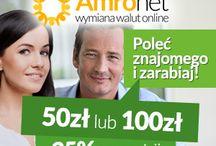 Amronet.pl Zarabianie za polecanie