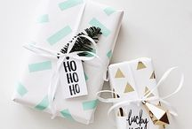 Wrap gift / to open the best wrapped gifts is the hardest thing... but also the most exciting...
