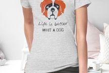 kejter damski / T-shirty i torby z wizerunkami psów