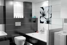 Pret-A-Porte / Νέα σειρά πλακιδίων με διάσταση 25 x 75 cm και γυαλιστερή επιφάνεια. Σε αποχρώσεις του λευκού και μαύρου για μία ατμόσφαιρα Chic στο μπάνιο σας.