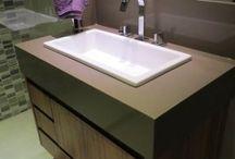 Banheiros / Banheiros com a cara dos nossos clientes , sempre personalizados para atender os mais variados gostos!