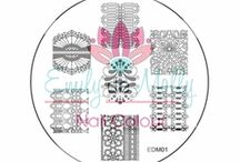 Emily de Molly Stamping Plates / Emily de Molly Stamping Plates