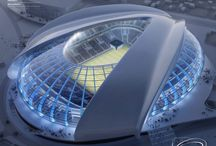 Architecture Football Stadium