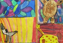 Children ArtWork & Creativity / Constructions, drawings, paintings, 3D, sculptures and so on... by Children from around the world.