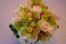Wedding Flowers / A collection of wedding flowers including bridal bouquets, centerpieces, and corsages