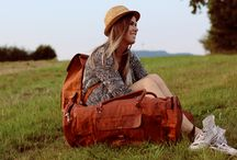 Leather Travel bags - Gusti Leder nature / Robust and chic leather travel bags.