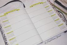 Bullet journal Inspirations / Mes inspirations sur le Bullet journal