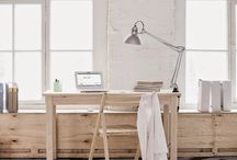 Working space/ natural  grey color / Working space/ natural and grey color