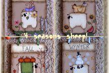 pecore e conigli