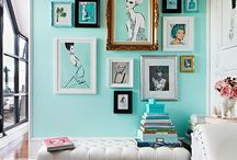 Displaying pictures / Different ideas for displaying artwork and pictures.