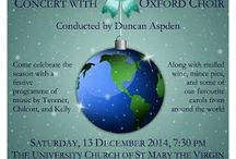 Choir Concerts / Concerts with the City of Oxford Choir
