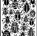 Art journal stencils