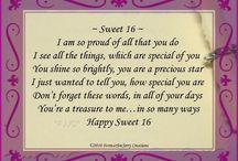 Sweet 16 birthday quotes
