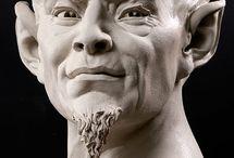 Pottery sculture