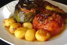 Greek Vegetarian Recipes / A selection of authentic and delicious Greek vegetarian dishes.