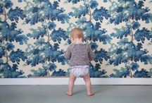Inspiration Kids room / Wallpaper