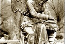 Angels-where they tread and the likes / Sacred grounds and their statues, monuments and memorials that move me / by Sherri