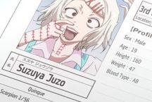 Tokyo ghoul juzo suzuya cosplay