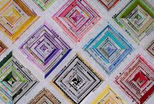 Waste not, Want not Quilts / Quilts and quilted items made from fabric selvage. / by Jacqueline Trocchi