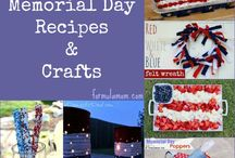 Memorial Day / Memorial day crafts, patriotic recipes, and red white and blue food. / by Diane Hoffmaster
