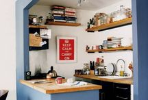 Kuchyne malé priestory