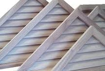 Gable Vents / well-proportioned vents