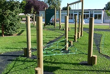 Adventure Trails / Timber adventure trails are always a popular and fun addition to a play area. Caloo have a large choice of timber trails on offer, or we could create a new trail to fit your space and preferences!