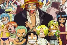 Anime and manga One piece