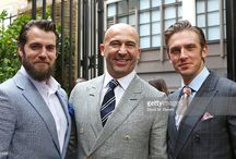 Henry Cavill at the Dunhill and GQ Style Party in London  2015 / Henry Cavill attended the Dunhill and GQ style party to celebrate LCM SS16 at Bourdon House on June 14, 2015