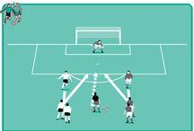 Voetbal training