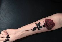 Red Roses / Rote Rosen Tattoo