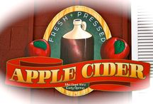 Apple Cider... / Our Delicious Apple Cider