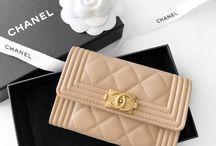 Chanel boy cardholders