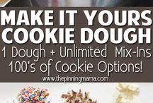 cookie dough / Recept