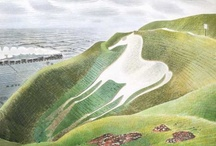 Eric Ravilious Downland Man / Eric Ravilious painted the Sussex Downs, seeking to uncover the old mysticism, the ancient tracks and traces of prehistory. It was a place he returned to, again and again.