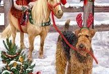 dyr jul