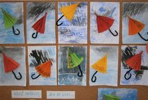 podzim Déšť a Deštník