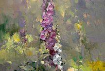 Flowers / Blomstermalerier