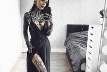 Татуированные женщины