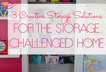 Store It / Creative storage ideas for the space impaired