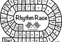Teach rhythm
