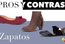 Zapatos - Pros y Contras / ¿Flats o tacones? Conoce las ventajas y desventajas de cada uno y decídete por la mejor opción.