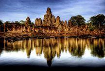 Cambodia / 50回以上は訪れた国です。1992年のUNTAC(国連暫定統治機構)の明石代表が駐在の時に初めての出張し、以来カンボジアの成長を見てきた国です。2013年に漸くアンコールワットを訪れることができました。