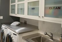 laundry design and organisation
