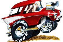 Dream Rides Cartoons