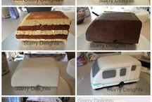 Lakókocsi torta