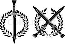 gladius sword tattoo