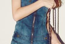 デニム…denim♡ / #denim #デニム #dress #ドレス #one-piece #ワンピース #design #デザイン #fashion #ファッション